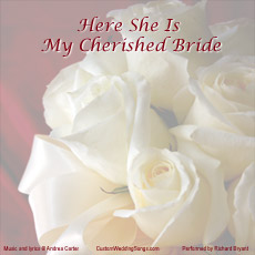 CD cover for original bridal entrance song