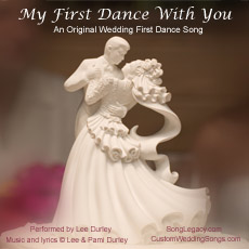 CD cover for original wedding dance song, May I Have This First Dance?