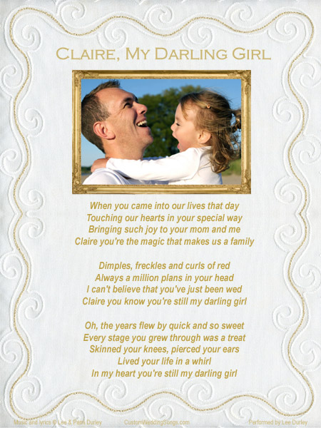 Wedding Songs For Father And Daughter Dance